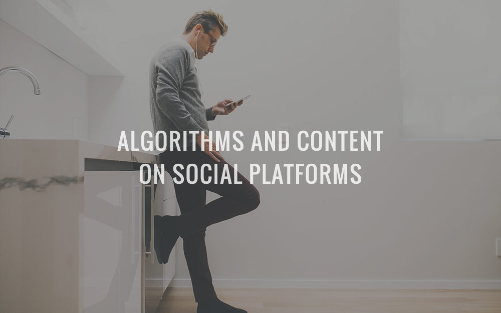 Algorithms And Content On Social Platforms