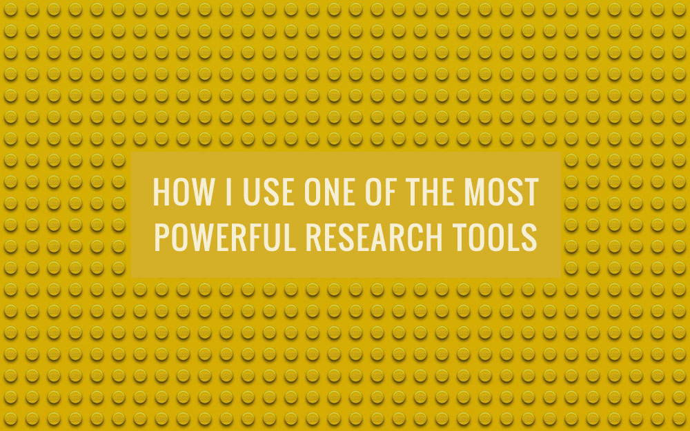 How I Use One Of The Most Powerful Research Tools