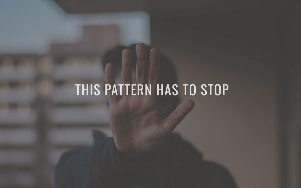 This pattern has to stop
