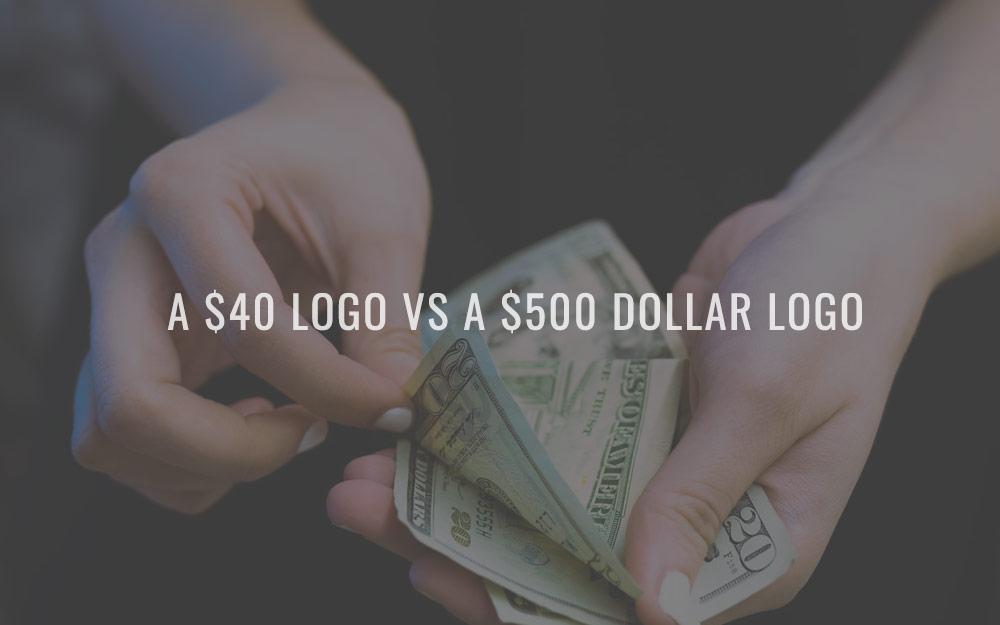 A $40 logo vs a $500 dollar logo